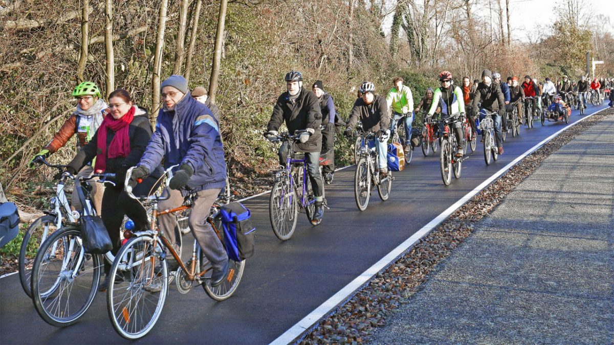 GERMANY'S LATEST 62-MILE LONG BICYCLE HIGHWAY