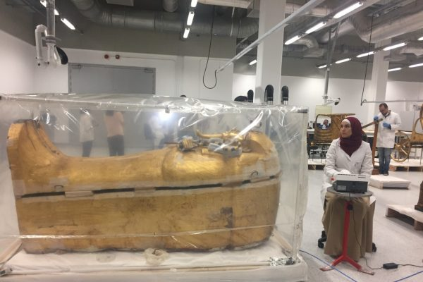 King Tut's Coffin vacated the 3,300 Years ancient grave
