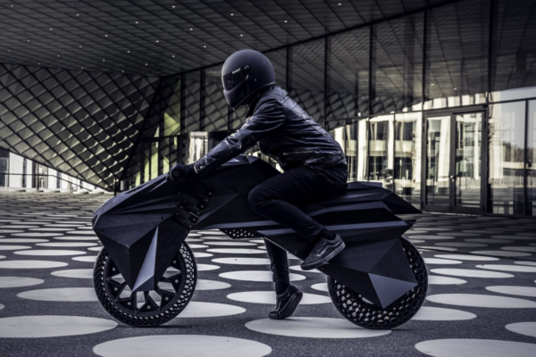 3D Printed Electric Motorbike